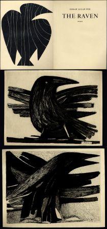 Libro Illustrato Prassinos - Edgar Allan Poe. THE RAVEN