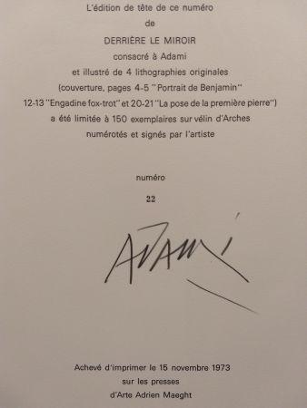 Libro Illustrato Adami - Edition Tete DLM 206