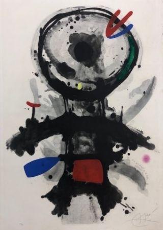 Acquaforte Miró - El angel acribillado