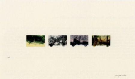 Litografia Perejaume - El Bosc A Casa-2