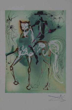 Litografia Dali - El caballo del picador