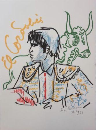 Litografia Cocteau - El cordobes