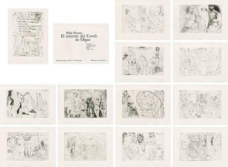 Libro Illustrato Picasso - El entierro del Conde de Orgaz