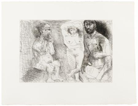 Libro Illustrato Picasso - EL ENTIERRO DEL CONDE DE ORGAZ. 13 gravures originales (1969).