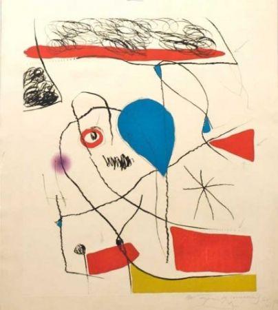 Acquaforte E Acquatinta Miró - El Pi De Formentor