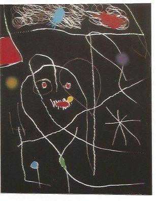 Incisione Miró - El Pi (Elpe) de Formentor