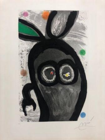 Acquaforte E Acquatinta Miró - El rey de los conejos