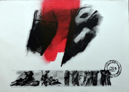 Litografia Balmes - El rojo gota a gota va naciendo