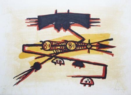 Litografia Lam - El ultimo viaje del buque fantasma - 3