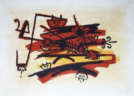 Litografia Lam - El ultimo viaje del buque fantasma - 4