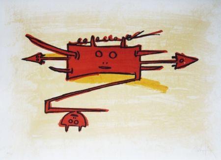 Litografia Lam - El ultimo viaje del buque fantasma - 6