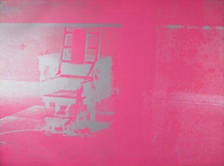 Serigrafia Warhol - Electric Chair (FS II.75)