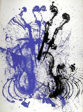 Serigrafia Arman - Electric Concerto