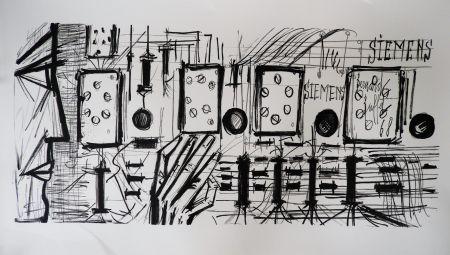 Litografia Buffet - Electronic Circuits, Siemens,