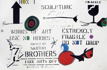 Acquaforte E Acquatinta Miró - Emballage