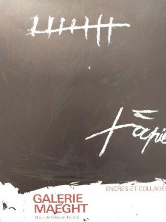 Manifesti Tàpies - Encres et collages