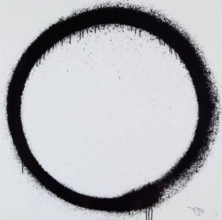 Litografia Murakami - Enso: Tranquility,