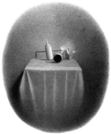 Litografia Ferroni - Equilibri instabili