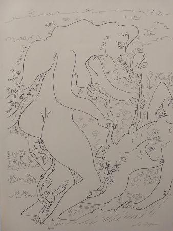 Litografia Masson - Erotic land