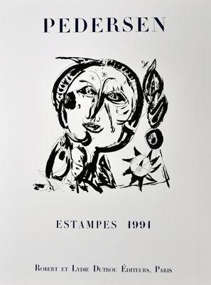 Manifesti Pedersen - Estampes 1991