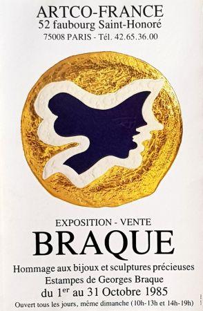 Offset Braque - Estampes de Georges Braque