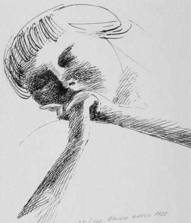 Litografia Greco - Estasi n.2