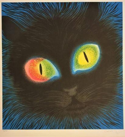 Litografia Vasarely - Etude de Lumiére