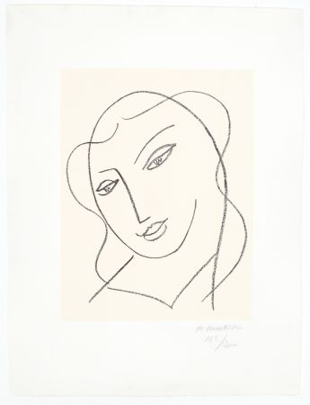 Litografia Matisse - Etude pour la Vierge,