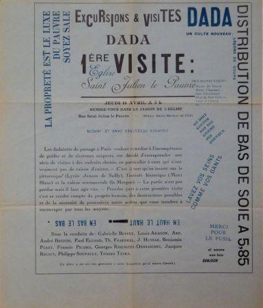 Non Tecnico Tzara - Excursions & visites Dada