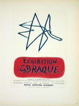 Litografia Braque - Exhibition  Royal Scottish Academy