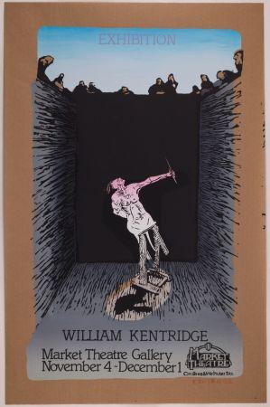 Serigrafia Kentridge - Exhibition William Kentridge (Pit Monotypes)