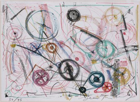 Litografia Tinguely - Exlibris