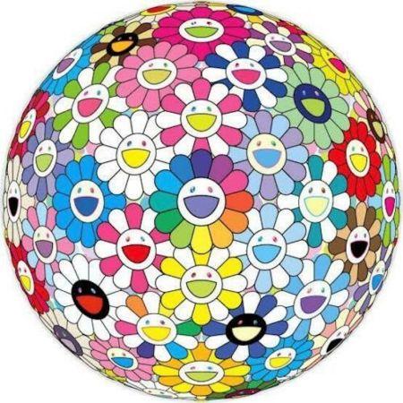 Litografia Murakami - Expanding Universe