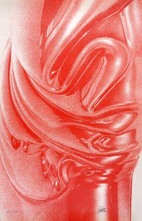 Serigrafia Cesar - Expansion rouge (César Plastiques)