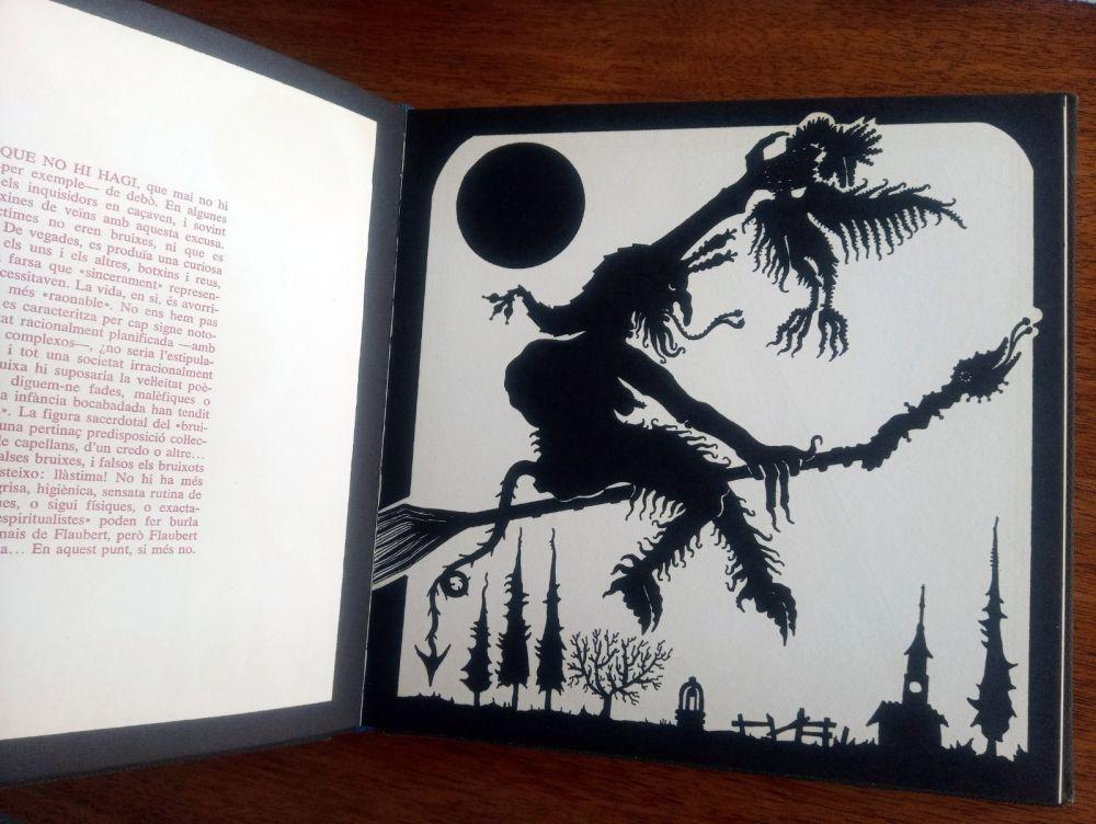 Libro Illustrato Ponç - Exploracio de l'ombra - Joan Fuster / Joan Ponç