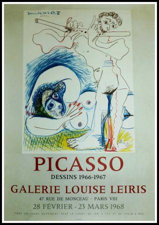 Manifesti Picasso - EXPO 1968 GALERIE LOUISE LEIRIS