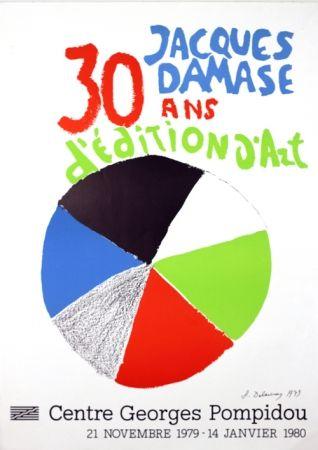 Litografia Delaunay - Expo J Damasse 30 Ans d'Edition d'Art