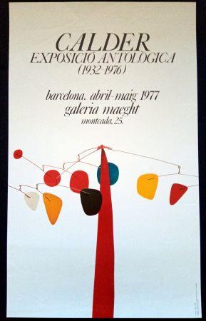 Manifesti Calder - Exposició Antològica 1932 1976