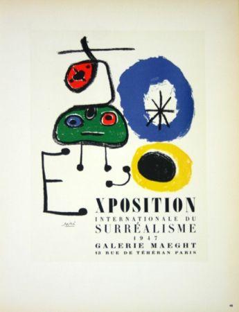 Non Tecnico Miró - Exposition du Surréalisme  Galerie Maeght 1947