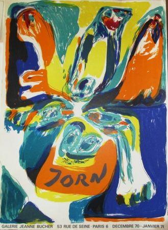 Manifesti Jorn - Exposition Galerie Jeanne Bucher 70-71