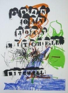 Litografia Mitchell - Exposition Jean Fournier