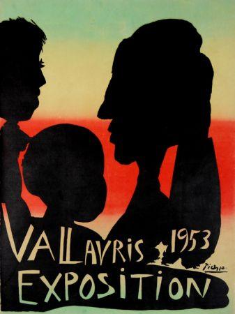Litografia Picasso - Exposition Vallauris 1953