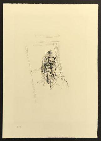 Incisione Giacometti - Face from La Magie Quotidienne