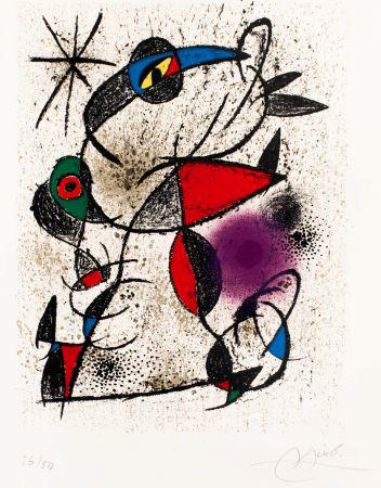 Litografia Miró -  Faillie du calcaire