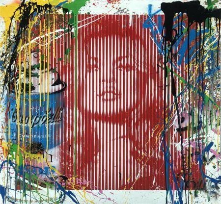 Non Tecnico Mr. Brainwash - Fame Moss Red/ Kate Moss (HPM)