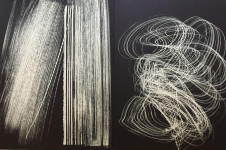 Litografia Hartung - Farandole 13