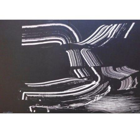 Litografia Hartung - Farandole D
