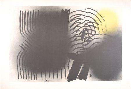 Litografia Hartung - FARANDOLE : L 1970-2