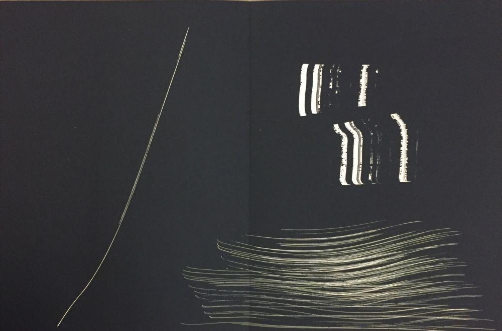 Litografia Hartung - Farandole M