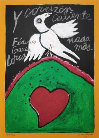 Serigrafia Corneille - Federico Garcia Lorca